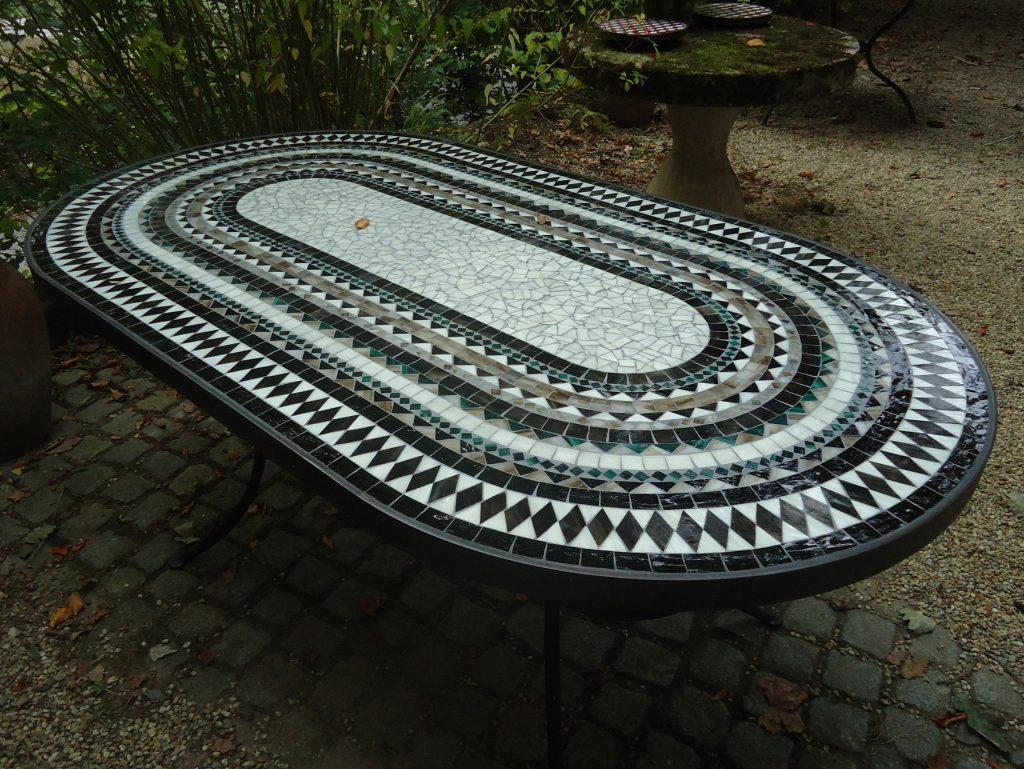 XXL-Tisch oval (Nr. 6)