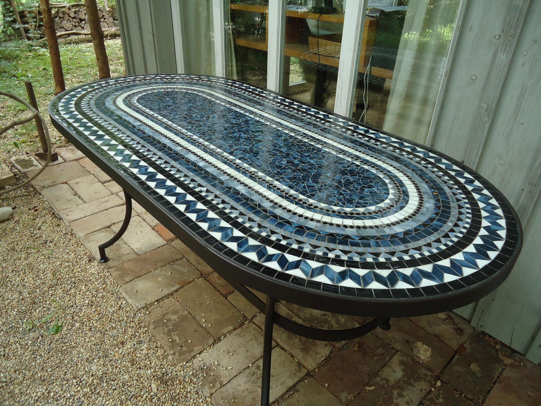 XXL-Tisch oval (Nr. 13)