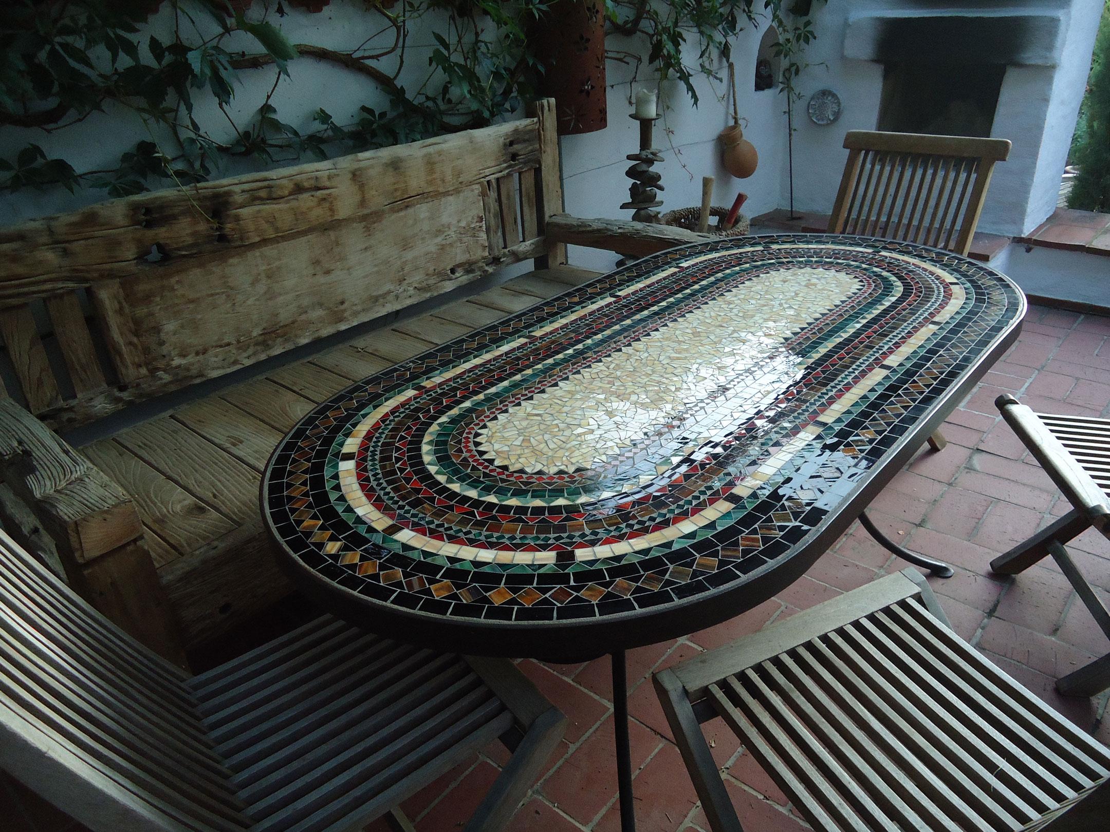 XXL-Tisch oval (Nr. 21)
