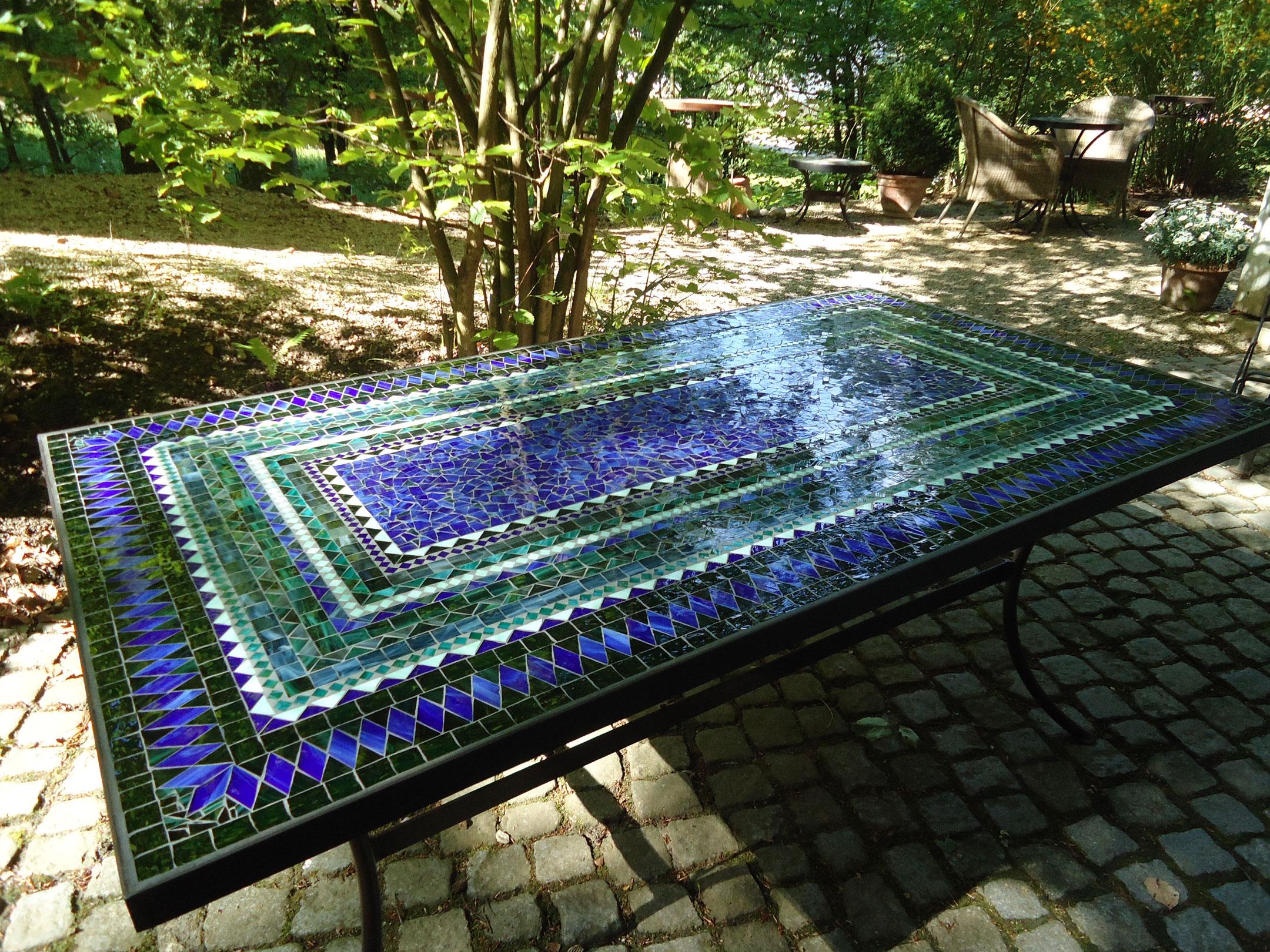 Mosaiktisch (Nr. 28)