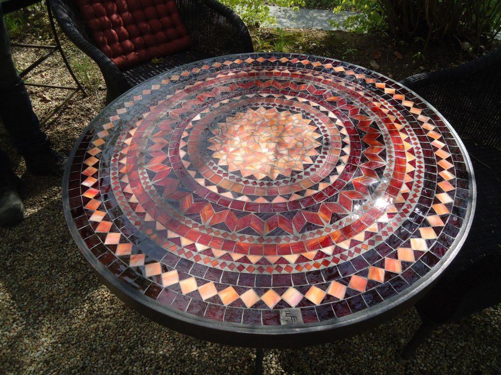 Runder Mosaiktisch (Nr. 45)