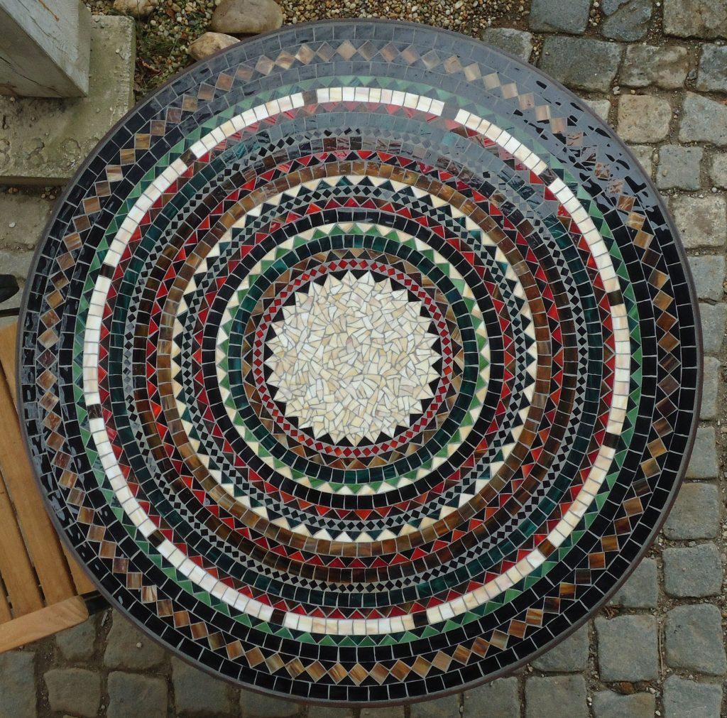 Runder Mosaiktisch (Nr. 60)